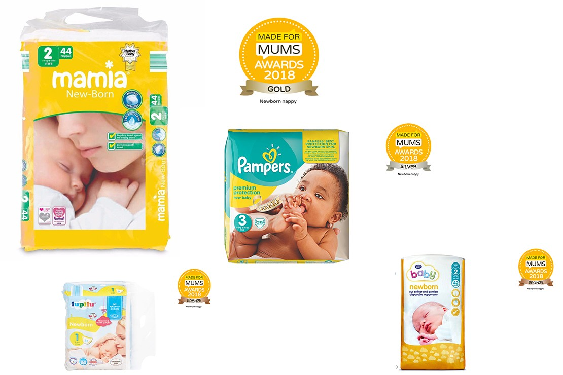 Newborn nappy winners MFM Awards 2018