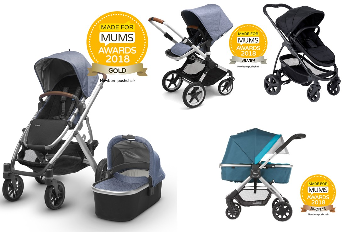 Newborn pushchair winners 2018