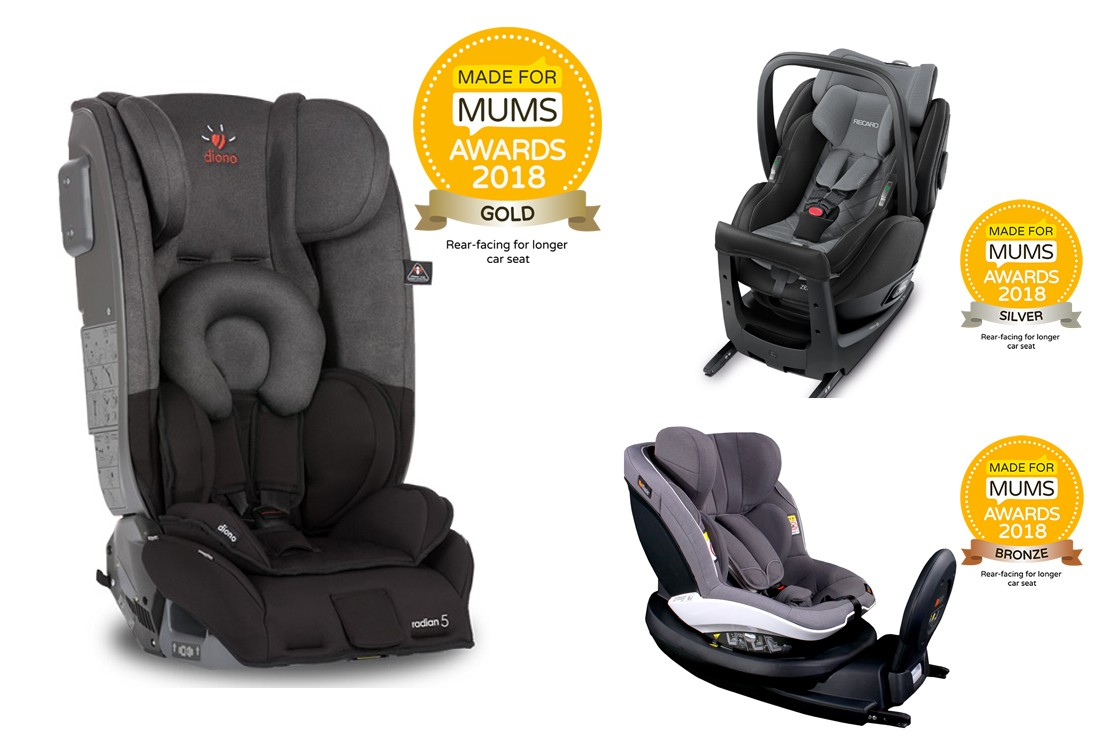 Rear facing for longer car seat winners 2018