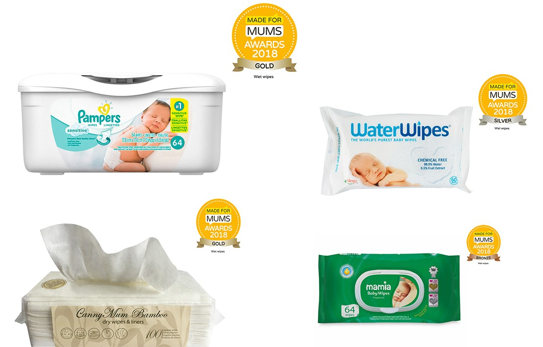Wet wipes winners MFM Awards 2018