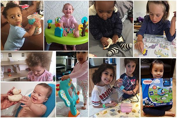 child judges collage