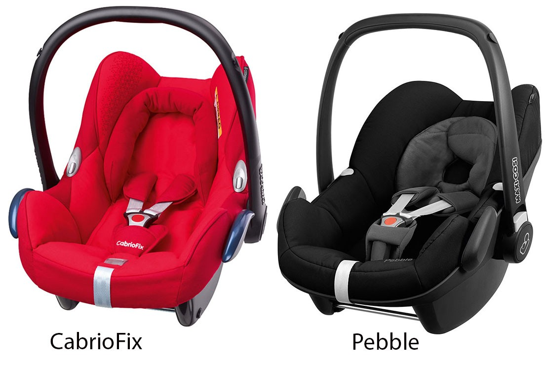 CabrioFix vs Pebble car seat