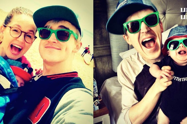 mcflys-tom-fletcher-and-baby-buzz-wear-matching-outfits_54372