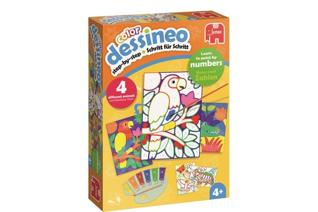 mfm Dessineo - Learn to paint by numbers