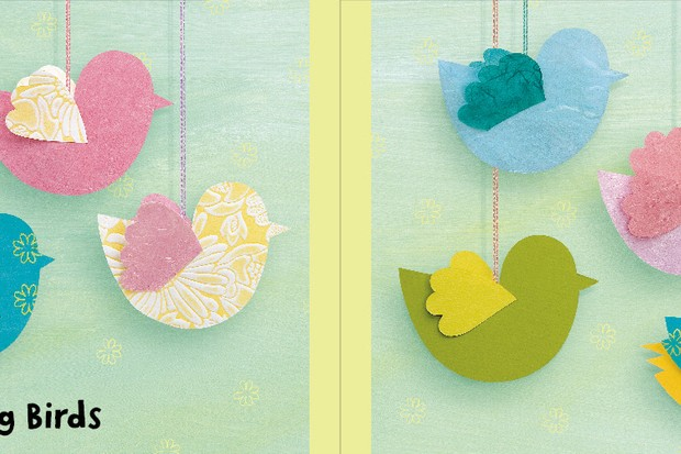 Simple Fluttery Birds To Make With Your Toddler Madeformums