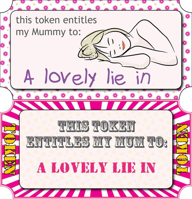 photograph regarding Printable Tokens identify Moms Working day cost-free vouchers - in the direction of print out - MadeForMums