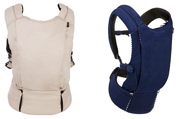 Free Ship! Mountain Buggy Juno Baby Carrier in Black New Includes Infant Insert
