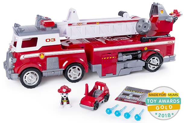 paw patrol rescue ultimate fire truck