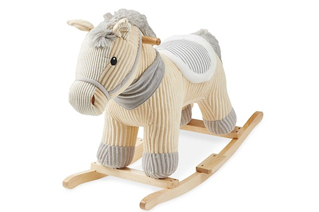 aldi little town rocking horse