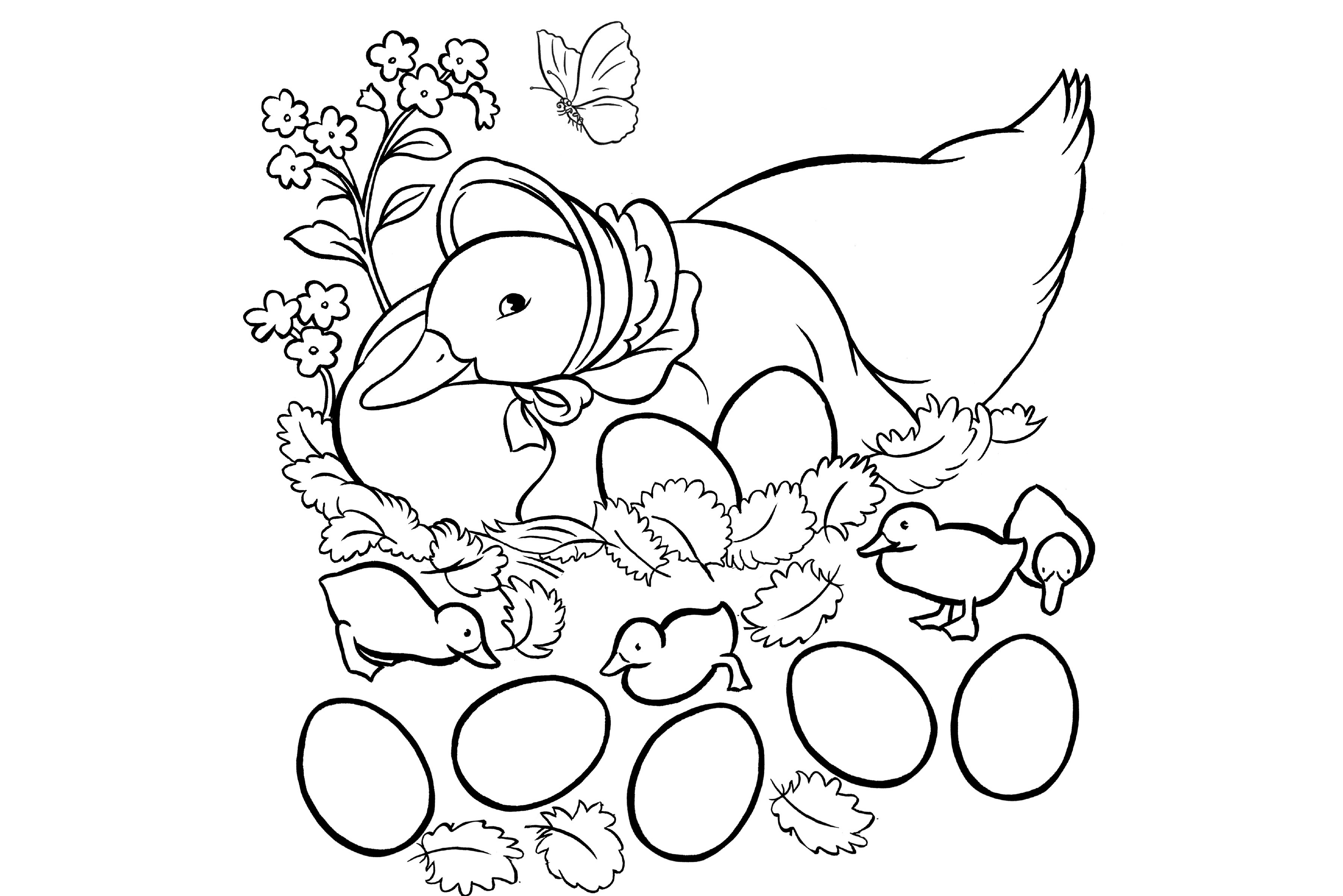 Peter Rabbit And Jemima Puddle Duck Activity Printables