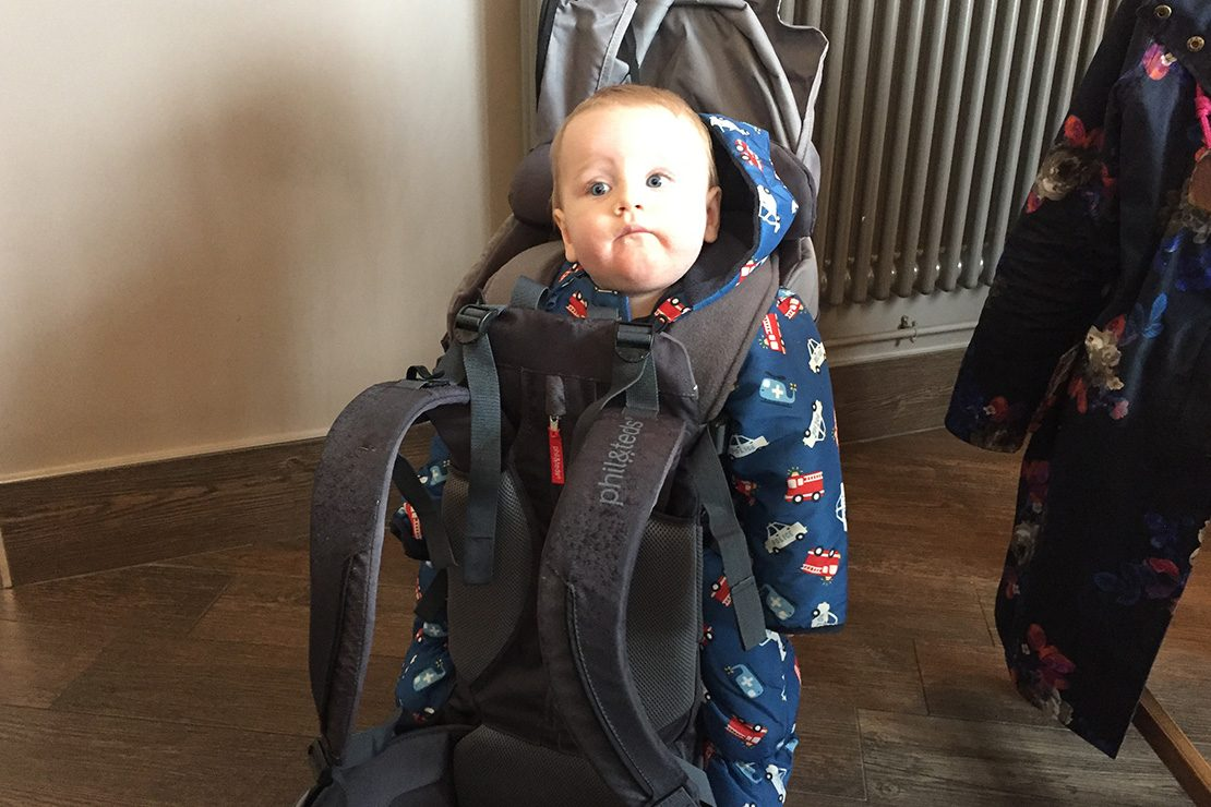 Charcoal//Charcoal Phil and teds Escape Baby Carrier