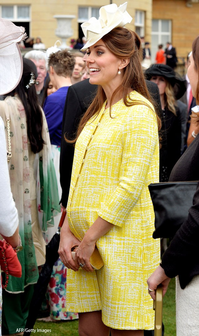 pregnant-kate-middleton-glows-in-yellow-summer-coat_47662