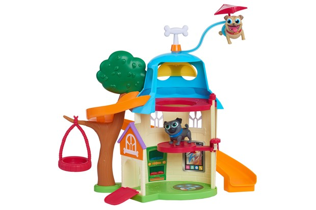 puppy dog pals doghouse playset