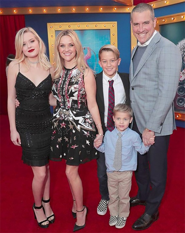 reese and family