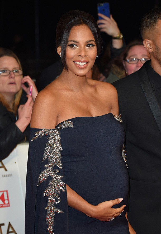 0048ac0519f Rochelle Humes reveals 8-month bump at the National Television Awards
