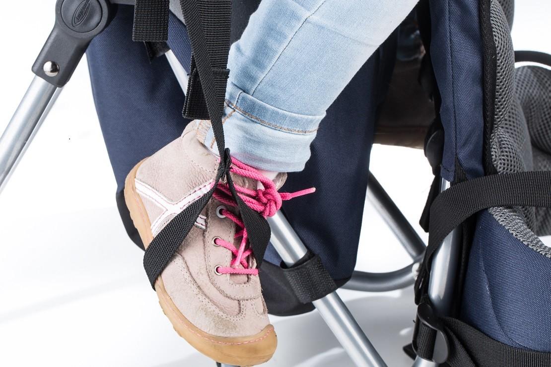 Skandika Sherpa foot holes are adjustable