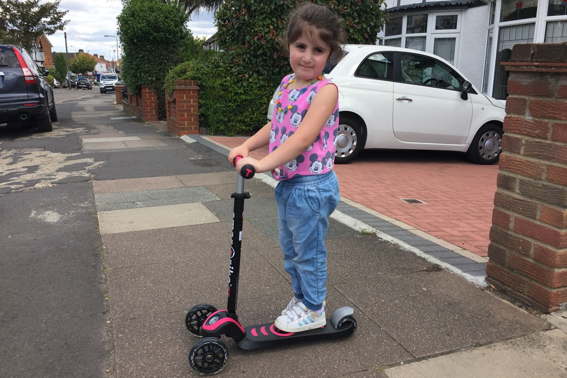 SmarTrike T5 scooter helps build confidence