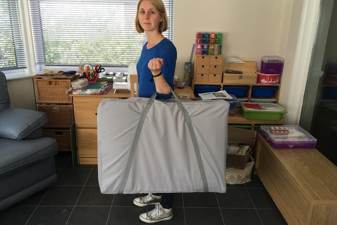 SpaceCot is large when folded