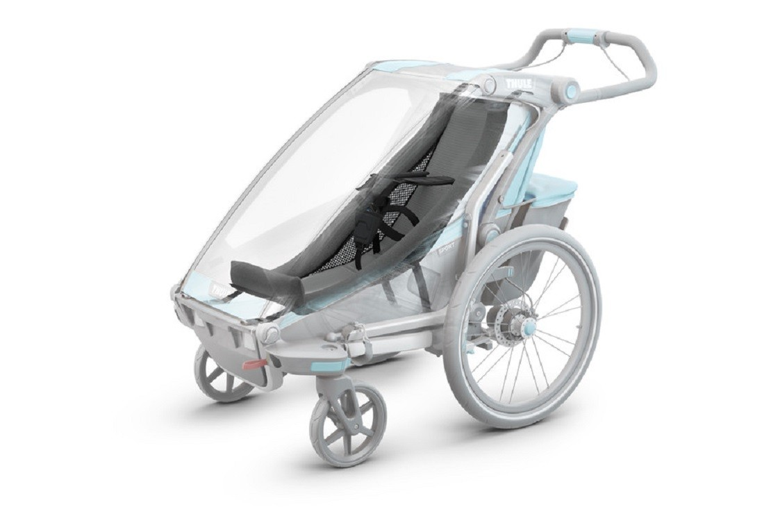 Thule Chariot Cross can be used from 1 month with the infant sling