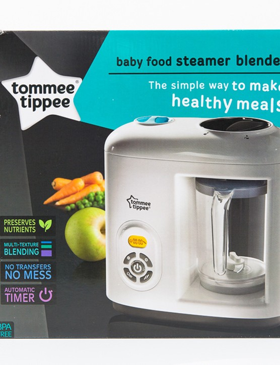 Tommee Tippee Baby Food Steamer Blender Bottles
