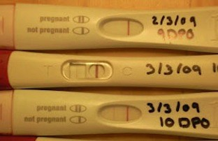 Extremely faint line on a pregnancy test: what it means