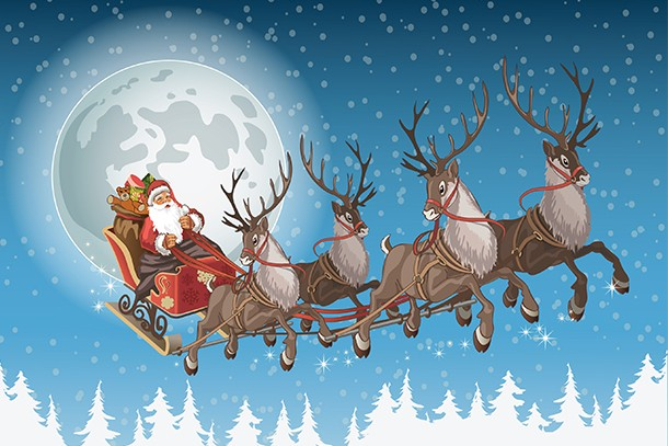 Watch Santa's sleigh fly over your house this Christmas - MadeForMums