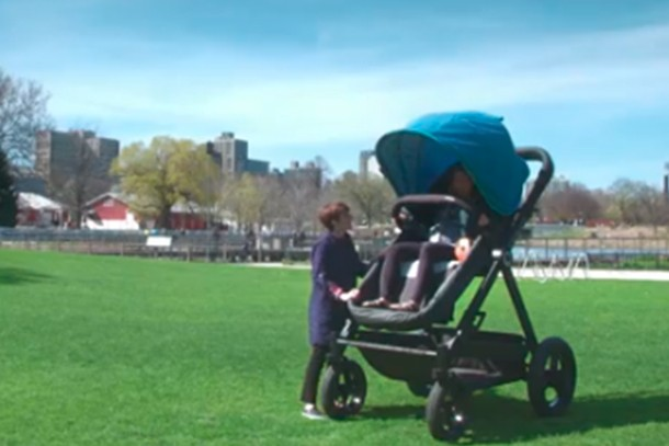4cca8b8b3a0 Parents test adult-sized buggies in funny video - MadeForMums