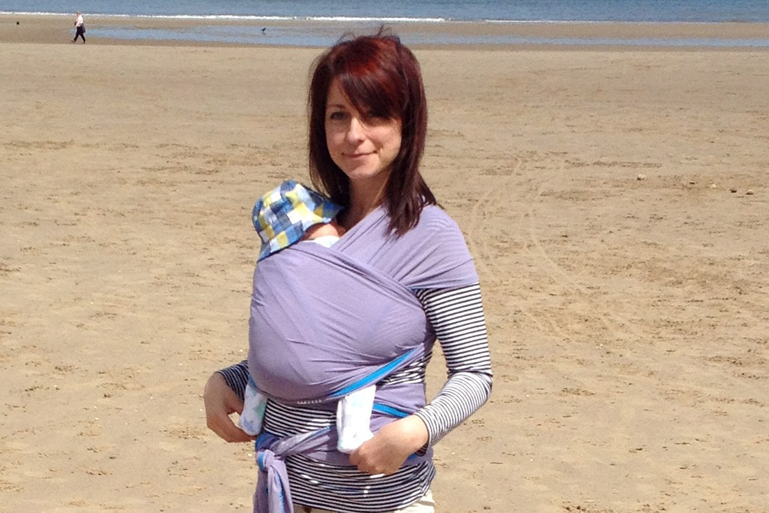 d618a575bbf We Made Me Wuti Wrap Carrier - Baby carriers - Carriers   slings ...