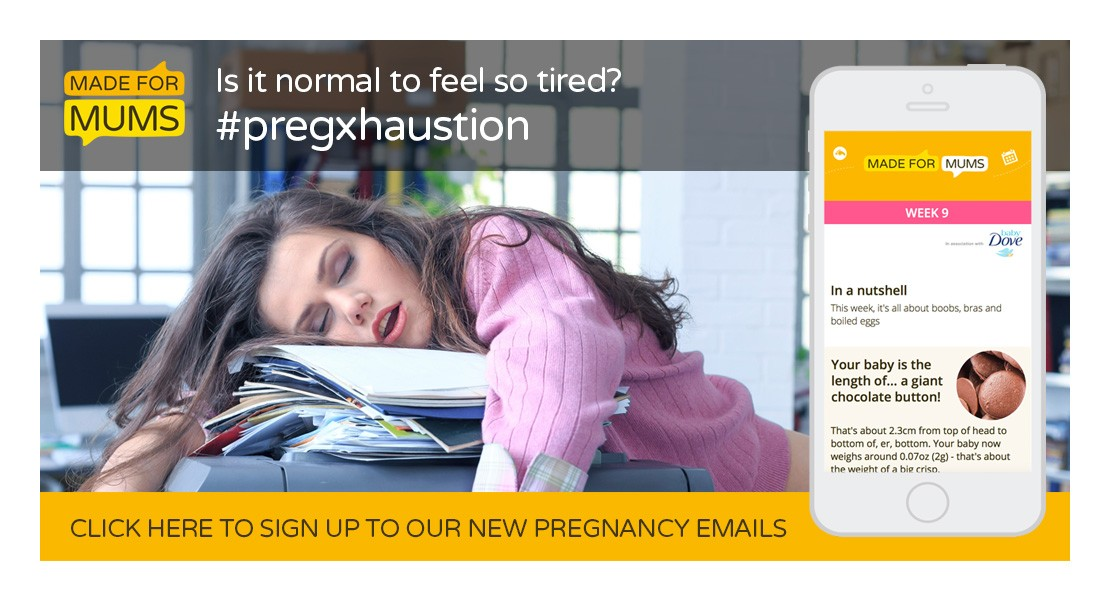 Tiredness in pregnancy