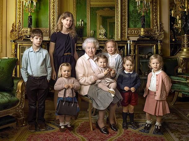 queen elizabeth ii grand kids