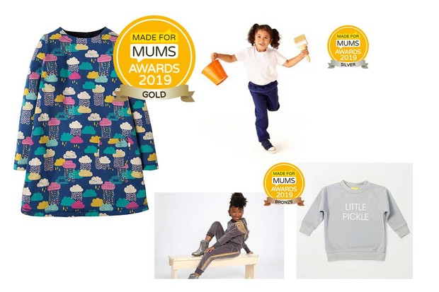 Childrens' clothing range
