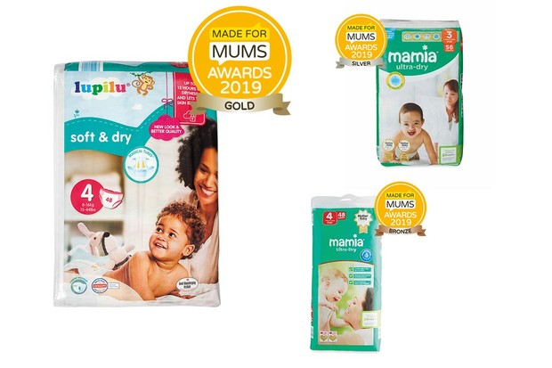 Baby nappies - up to size 4 (12kg max)