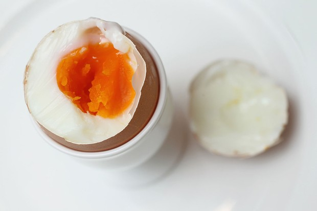 boiled egg in eggcup