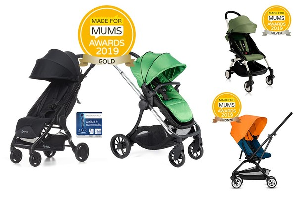 Compact pushchair