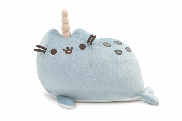 GUND Pusheen Narwhal Soft Toy
