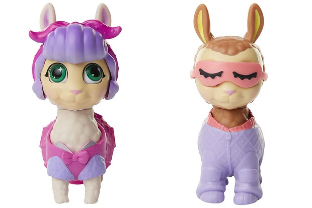 jakks pacific who's your llama collectibles