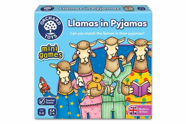 Llamas in pjs