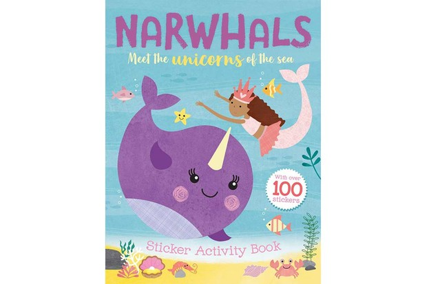 Narwhals: Sticker Activity Book