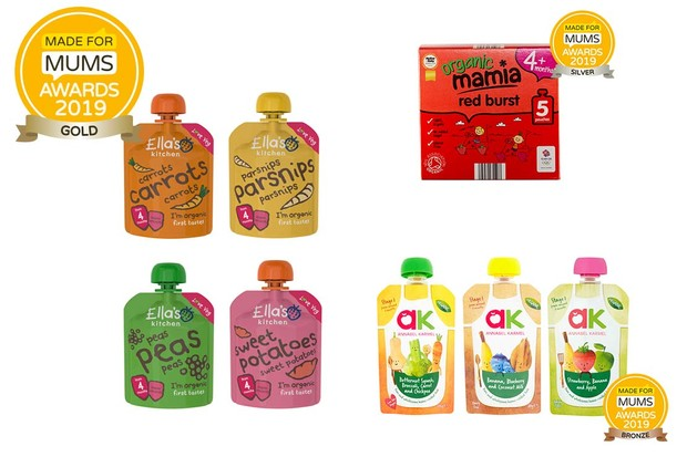Organic baby and toddler food product
