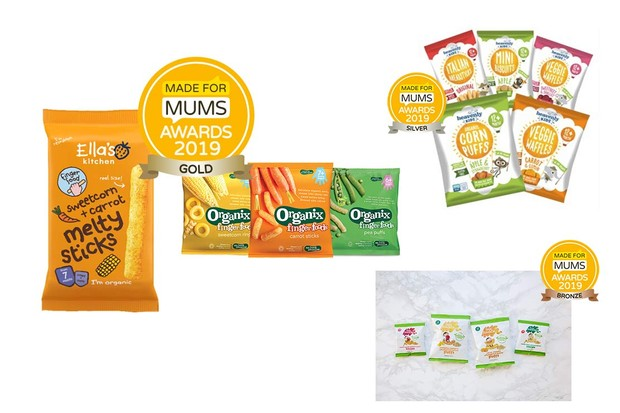 Organic baby or toddler food snack