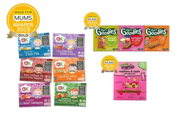 Toddler food product
