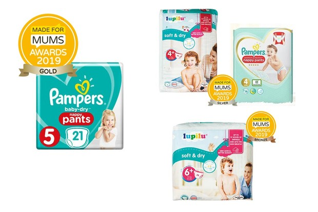 Toddler nappies - up to size 6 (14kg)