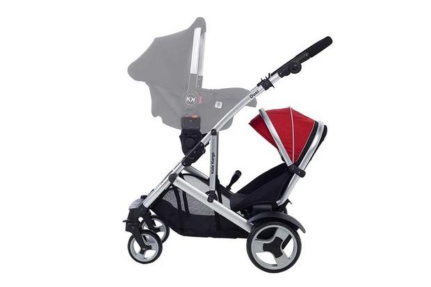 Kids Kargo Duel with car seat