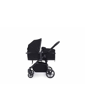Ickle Bubba Moon 3 In 1 Travel System With Isofix Base
