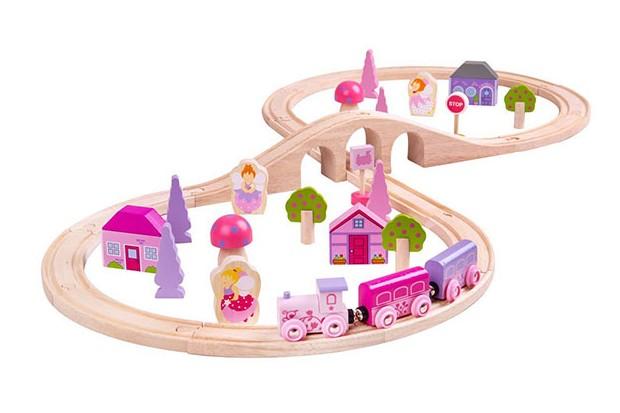 bigjigs fairy figures train set