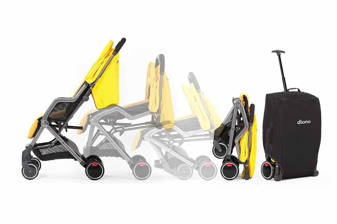 Stroller Transport Bag Wheeled Diono