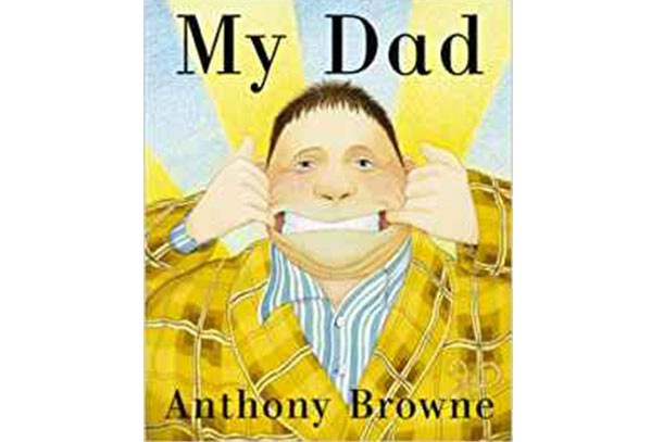 my dad by anthony browne book cover