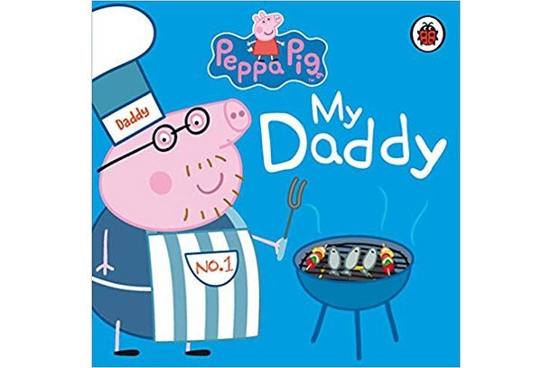 my daddy peppa pig book