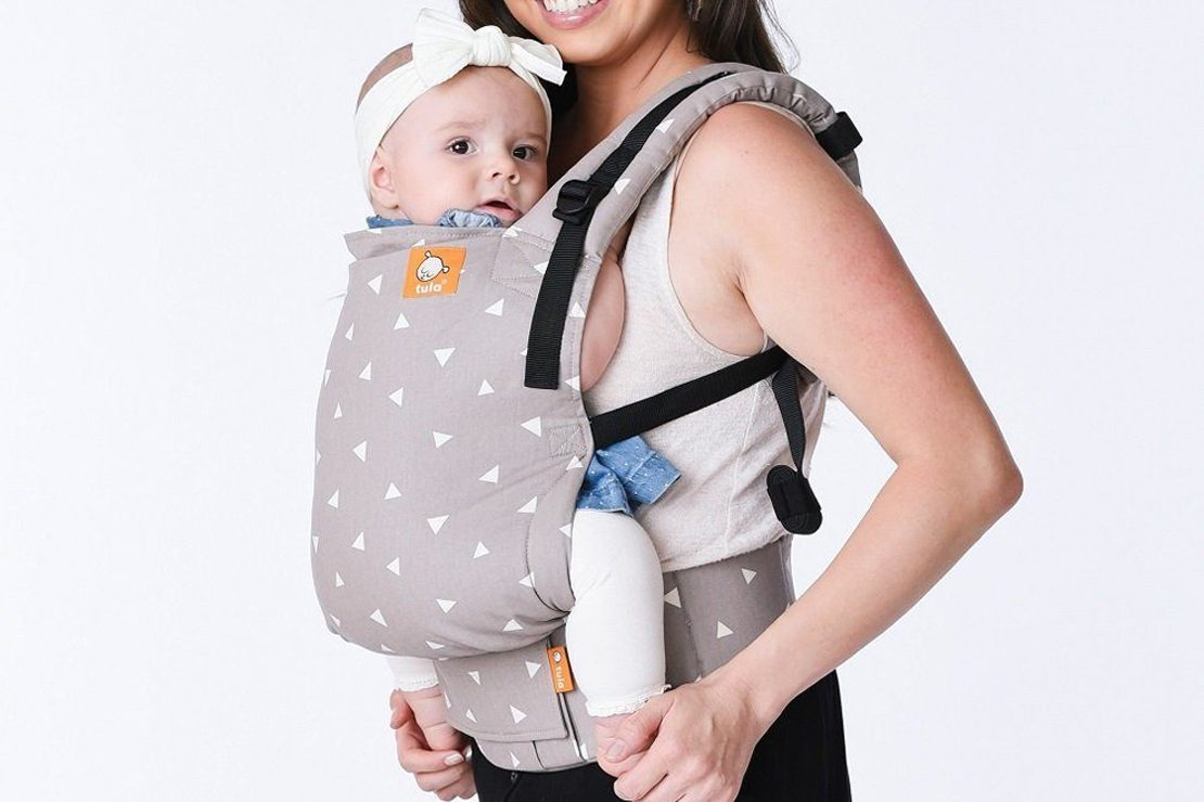 velcro baby carrier
