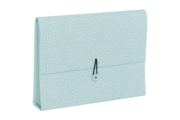WHSmith Henley Blue Dot Rollbound Expanding File
